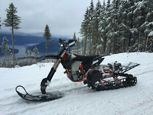 2016 Timbersled LT Snowcheck edition with TSS