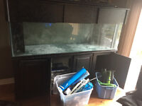 220 Gallon Fish tank and all of its accessories
