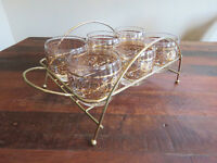Roly Poly Glasses - set of 6