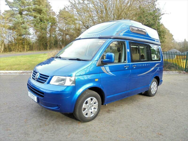 d27487ea4f Volkswagen Trident 4 Berth Low Mileage High Top Camper Van For Sale -SALE  AGREED