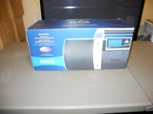 Sirius Boom Box Satellite Radio