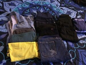 Lot of Maternity Clothes - small, size 4