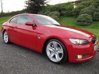 2007 BMW 335d SE COUPE **TWIN TURBO**286 BHP**MELBOURNE RED**