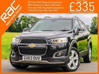 2013 Chevrolet Captiva 2.2 VCDI Turbo Diesel 184 BHP LTZ 6 Speed 4x4 4WD 7-Seate