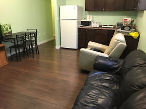 Furnished Basement Rooms for Rent