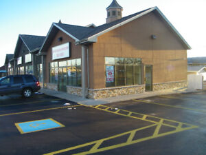 Retail space for lease, 1612 Mountain road, near Trinity Drive.
