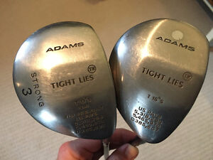 2 Adams Tight Lies Woods (Right Handed)