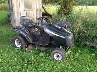 Poulan Riding Lawnmower