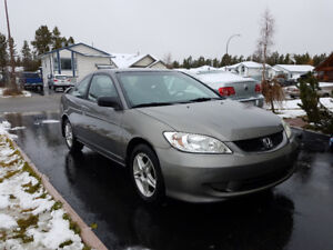 2005 Honda Civic Coupe, Low KMs