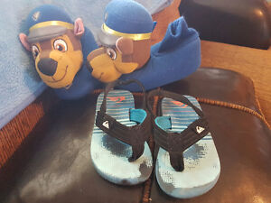 Toddler boys slippers and sandles
