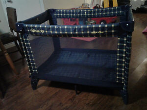 Graco, playpen in smoke free home. Comes with 2 covers