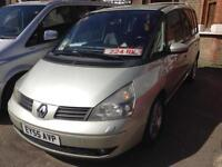 2005 Renault Espace 2.2dCi Left Hand Drive Lhd 7seaters low mileage low mileage