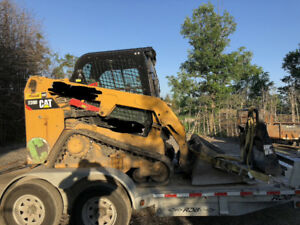 Caterpillar 239D 2015 track loader bobcat