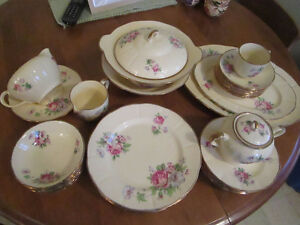 Antique Dish Set - Royal Braemar, England