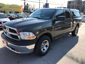 2012 Dodge Power Ram 1500 QUAD CAB HEMI SXT 4X4 PICKUP...PERFECT