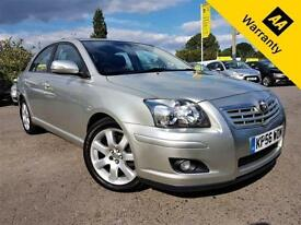 2006 TOYOTA AVENSIS 2.0 T4 VVT-I 145 BHP!P/X WELCOMAUTO+FULL DEALR HIS+54K MILES