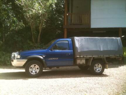 2005 Mazda B2500 4x4 TURBO DIESEL UTE Mowbray Cairns Surrounds Preview