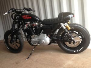 1985 HD Iron Head Sortster Cafe Racer
