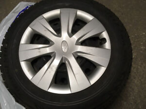 Great Condition 195/65/15 Bridgestone Blizzak WS70 Tires!!!