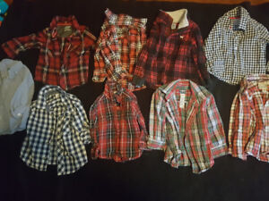 Brand name boys clothes ( 18month-2T)