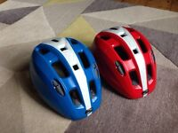 Kid's cycle bike helmets size small 46-52cm £4 each