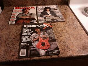 "Vintage "" Guitar World "" Magazines"