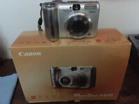 Canon PowerShot A610 and Wide Angle Lens