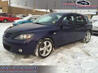 2005 Mazda Mazda3 GT AUTO/LEATHER/SUNROOF