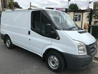 Ford Transit 260 SWB Low Roof 2010 with roof bars