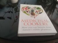 Medicinal Cookery By Dale Pinnock. This is a used book in very good condition. Collection Only