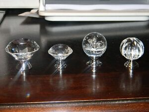 NEW 10 Pumpkin Shape Glass Knobs for Drawer,Dresser(with screws London Ontario image 3