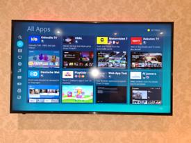55 inch Smart 4K Ultra Hisense TV i