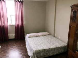 Bright and Spacious Master Bedroom for Rent in Dixie and Bloor