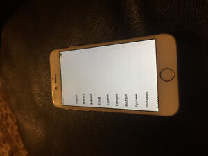 iPhone 6, 64gb mint condition gold