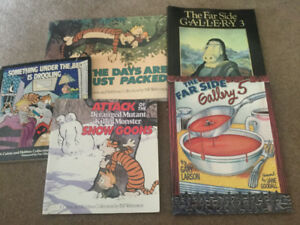 Calvin & Hobbes and The Far Side - 5 books