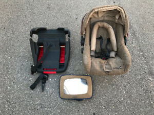 Car Seat and Carrier For Baby With Mirror