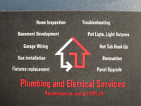 Electrician and Plumber, Electrical and Plumbing Services
