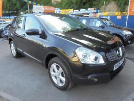 2009 09 NISSAN QASHQAI 1.5 DCI ACENTA IN BLACK # 2 OWNERS SERVICE HISTORY #