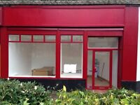 Falkirk shop to rent £130 per week rates + power included