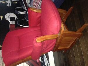 Chaise berçante Dutaillier