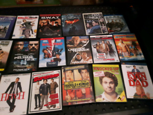 Selling lots of DVD's
