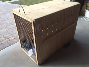 Extra Large Dog Crate - Airline and IATA Approved