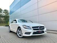2013 13 Mercedes-Benz CLS350 CDI BE Sport WHITE + NICE SPEC