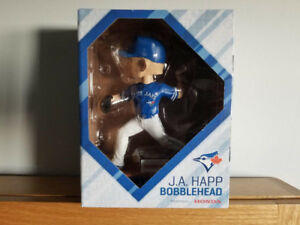 J.A. Happ Bobblehead - Blue Jays - Brand New