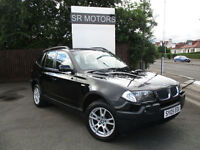2005 BMW X3 2.0d SE(HISTORY,LEATHER SEATS)