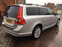 2010 V70 2.4 D SE LUX 180 BHP 5 DR ESTATE AUTO IMMACULATE FSH WITH CAMBELT
