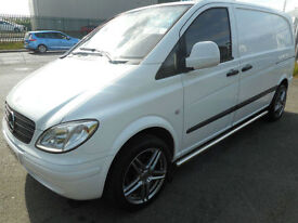 MERCEDES VITO 150 bhp REMAPED COMPACT SWB TWIN SIDE LOADIND DOOR DIESEL MANUAL
