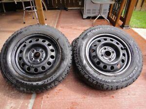 "4-14"" Goodyear Nordic Winter Tires"