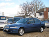 1999 ROVER 416 1.6 16v iXL SALOON - ONLY 79000 MILES !!