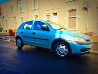 Tidy clean : Vauxhall Corsa 1.0lt, 1 Year MOT, 69k 5 doors!!